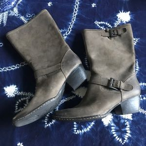 Born leather cowboy boots